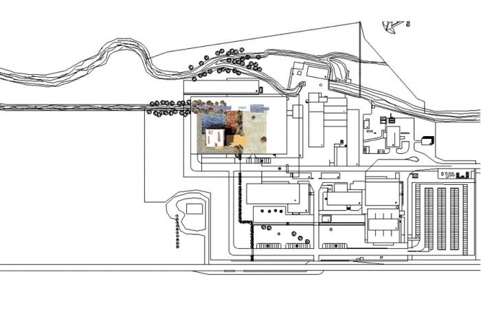CREATION de bureaux : Plan masse