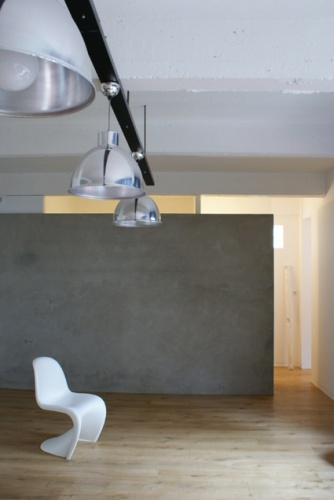 Ancien garage à habiter (75) : loft03.JPG