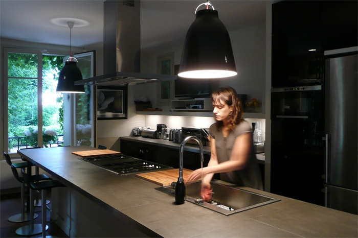 Grande cuisine-salle à manger : 55web