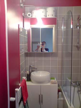Rénovation d'un appartement Haussmanien à Paris 18ème : salle de bain