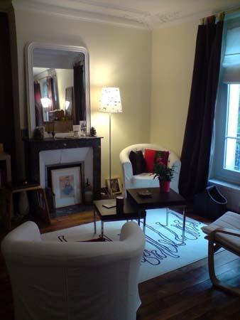 Rénovation d'un appartement Haussmanien à Paris 18ème : salon