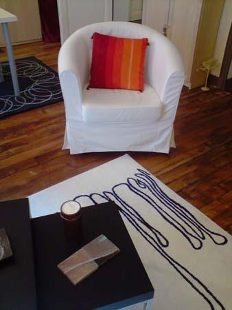 Rénovation d'un appartement Haussmanien à Paris 18ème : mobilier salon