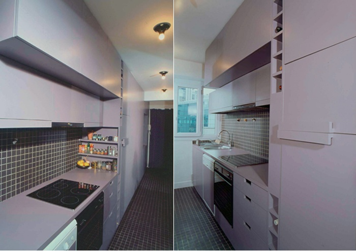 Restructuration d'un appartement, Paris XIIIe : 3-12-2010-BAR-vues cuisine 1 copie