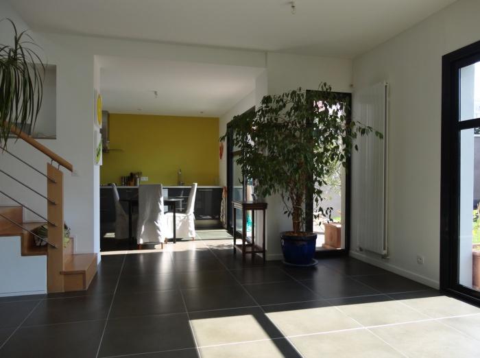 Extension et restructuration d'une maison de ville, Bois Colombes : 5-Bois Colombes-salon 2