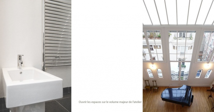 Villa Louvat : montage vertical + phrase