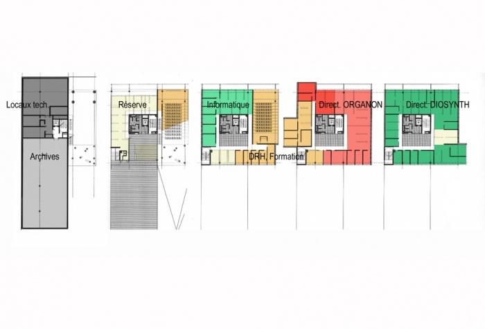 CREATION de bureaux : shemas