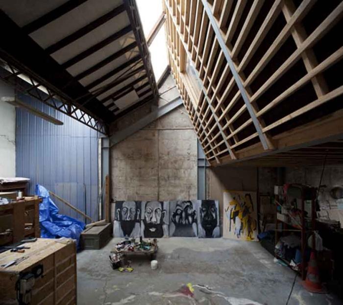 Rehabilitation d'un hangar : 13