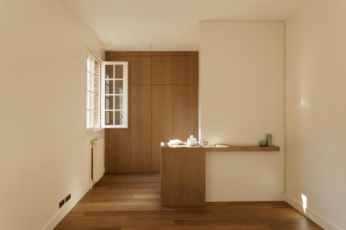 Appartement Paris VIIe : chambre parents