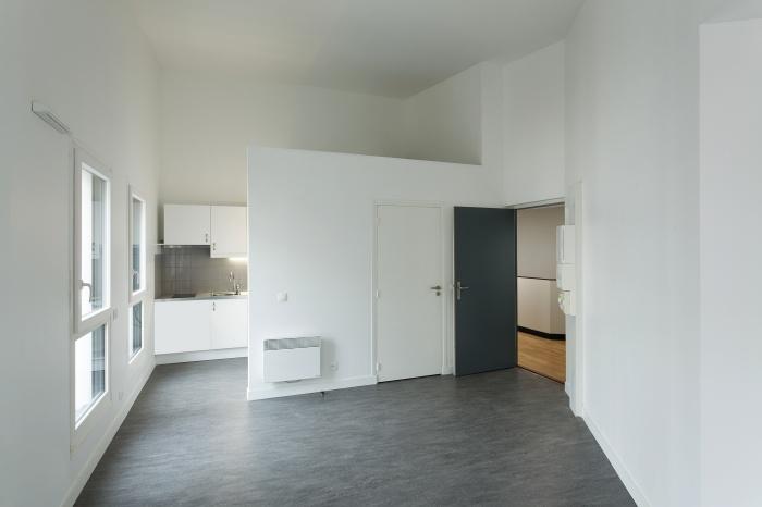 Restructuration et surélévation d'un immeuble de logements, Paris XXe : Gambetta_095 site