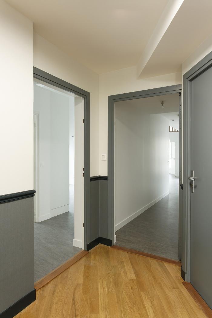 Restructuration et surélévation d'un immeuble de logements, Paris XXe : Gambetta_102 site
