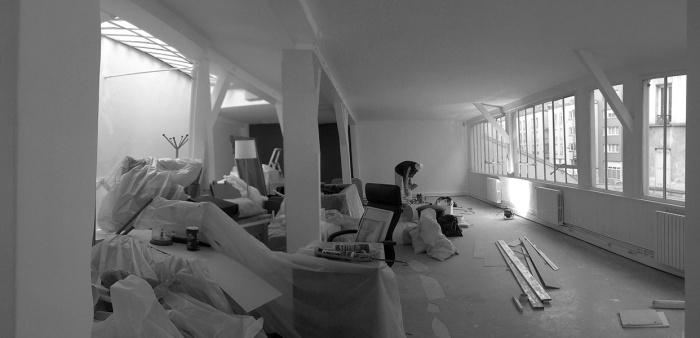 Rénovation: LAWOMATIC II, espace de Coworking : 140123-1