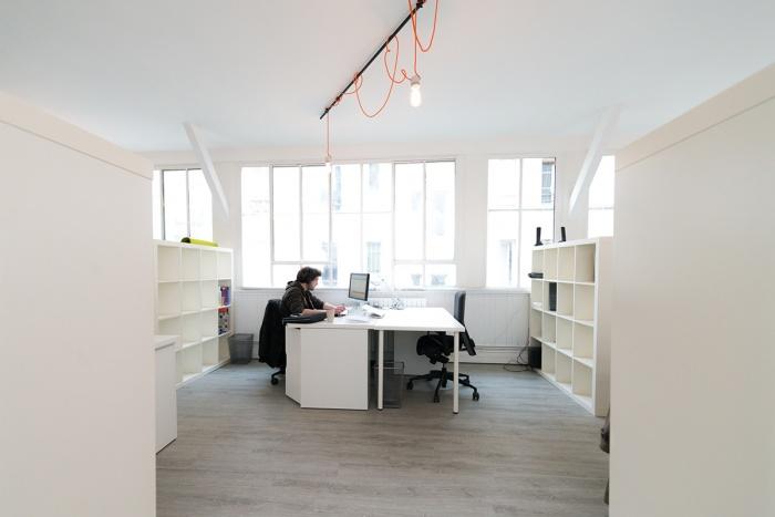 Rénovation: LAWOMATIC II, espace de Coworking