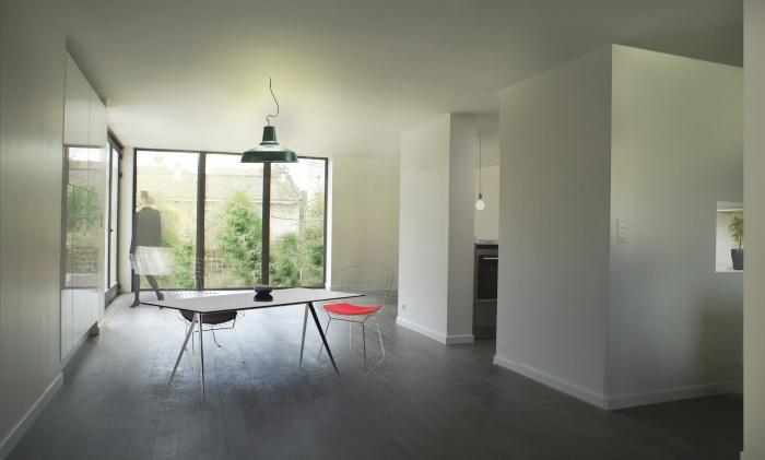 Extension de maison : Salle à manger - salon