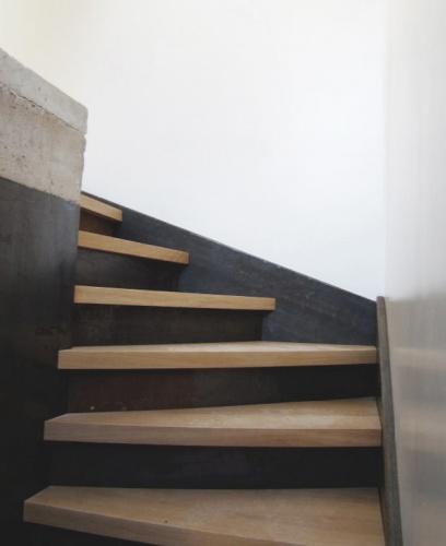 Extension de maison : Escalier d'entrée