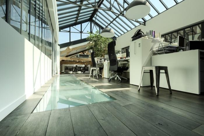 Aménagent du nouveau siège social d'une agence de Design Global