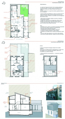 Reconfiguration et surélévation d'une maison : EJ-ETUP-PROP2 copie