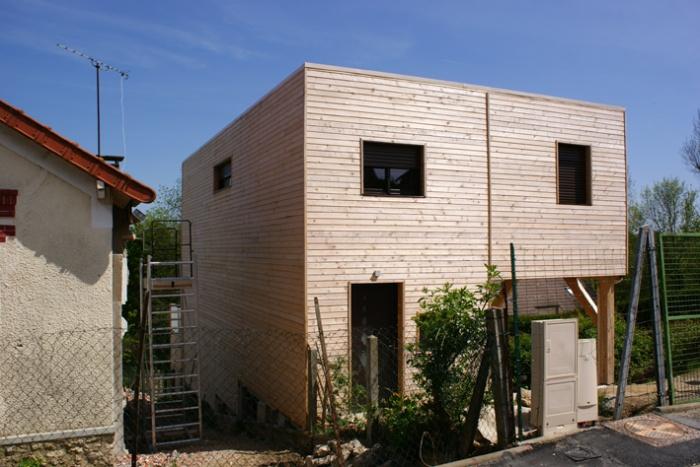 Maison bois en Autoconstruction (77) : DSC02928