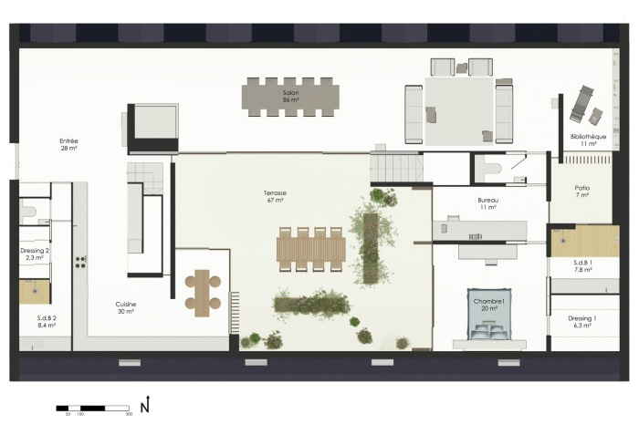 E 26 - Un Penthouse Parisien : E26-p2 (6)