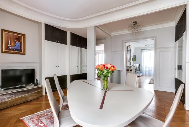 Appartement Paris 9 : poissonieres-salle à manger