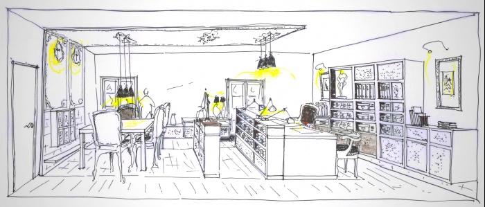 Etude pour la création de bureaux