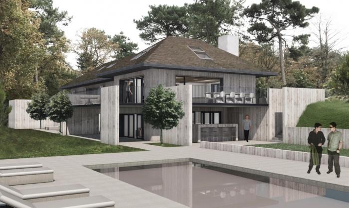 Réaménagement complet d'une villa au Touquet. Chantier en cours. Livraison mai 2017