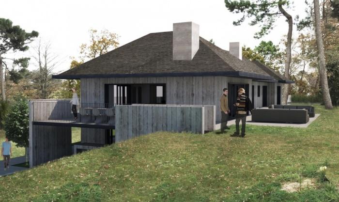 Réaménagement complet d'une villa au Touquet. Chantier en cours. Livraison mai 2017 : Capture d'écran 2016-09-25 à 13.19.56