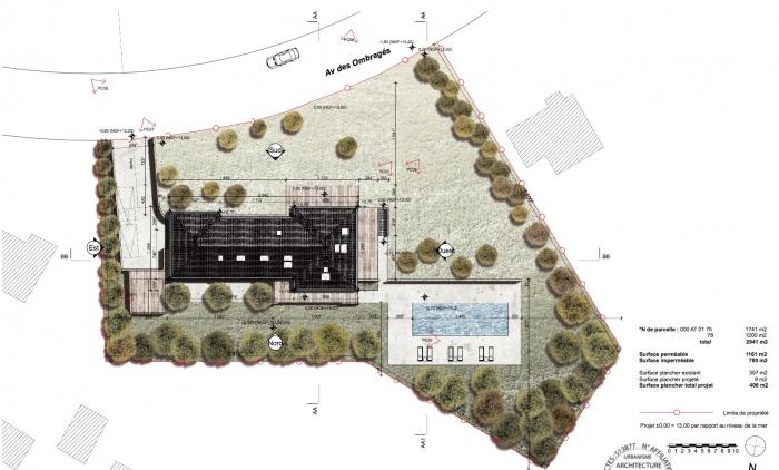 Réaménagement complet d'une villa au Touquet. Chantier en cours. Livraison mai 2017 : Capture d'écran 2016-09-25 à 13.17.51