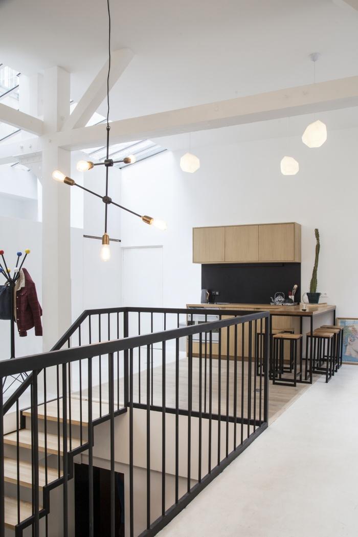 Rénovation de bureaux et création d'un studio de post-production : CRM-BBD17bis
