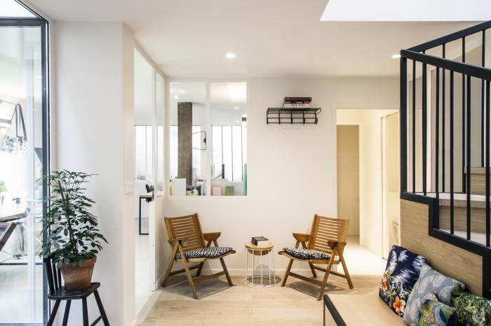 Rénovation de bureaux et création d'un studio de post-production : CRM-BBD28
