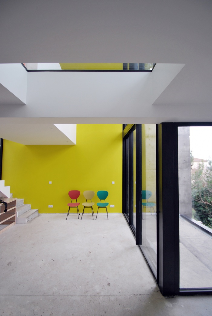 Création d'une maison et atelier d'artiste - Rosny-sous-Bois : 08