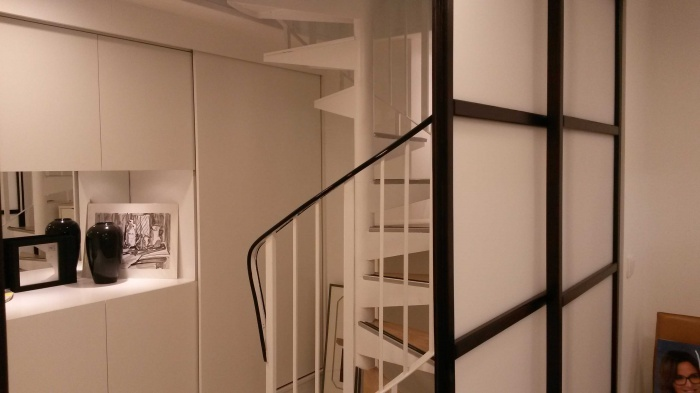 Extension d'une boutique d'optique : Escalier